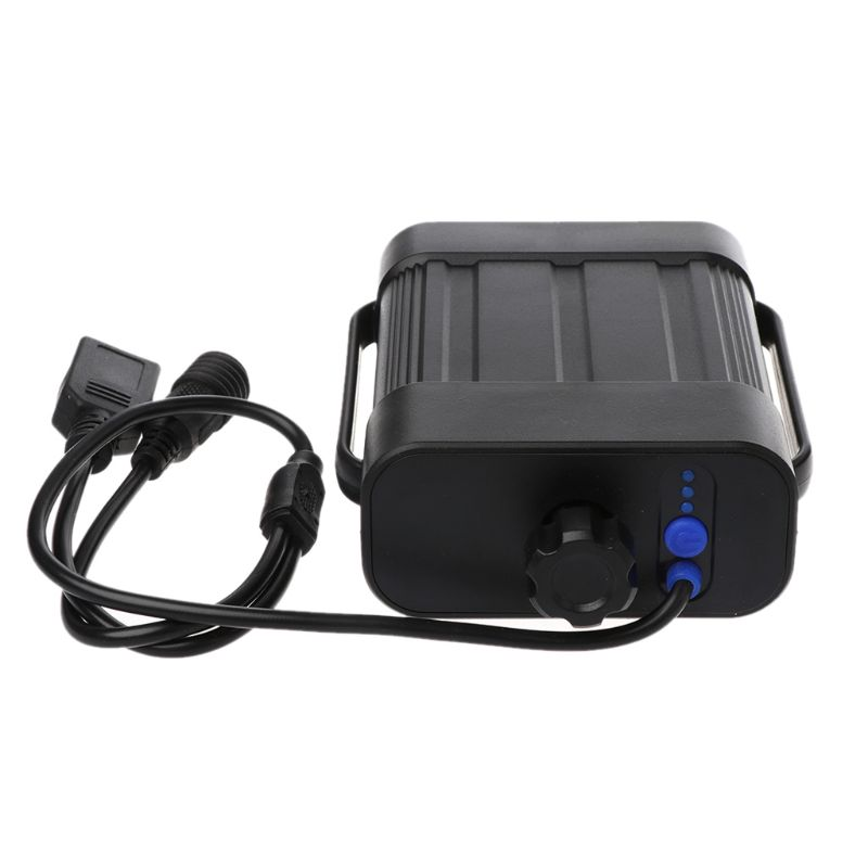 2X 18650 26650 8.4V Rechargeable Battery Case Pack Waterproof Cover Battery Storage Box with DC/USB