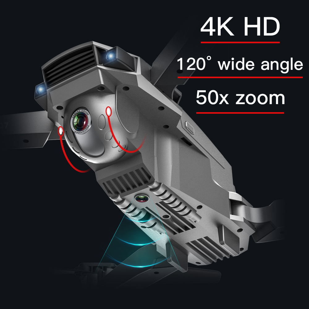Дрон SG907 Дрон HD gps 4K 1080P 5G wifi Двойная камера электронный анти встряхивание 50x зум Квадрокоптер Дрон с камерой VS E520S Дрон квадракоптер с камерой ... - 6