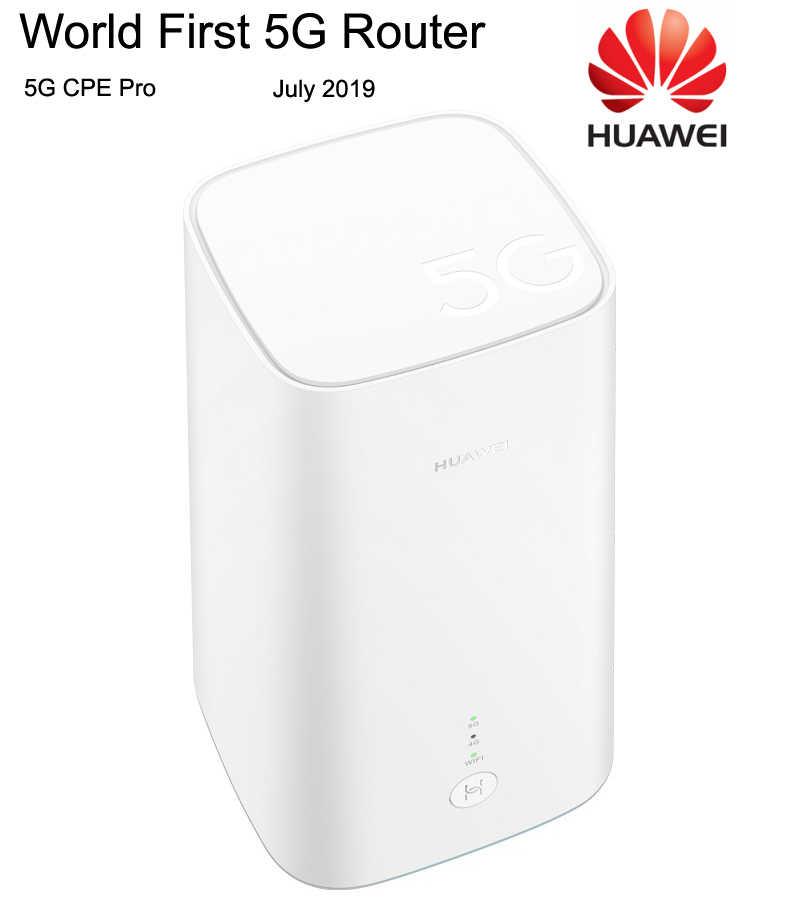 הטוב ביותר העולם הראשונה HUAWEI 5G CPE פרו נתבים עם Balong 5000 שבבים 2.3 Gbps של הורדת מהירות Dual Band gigabit אלחוטי