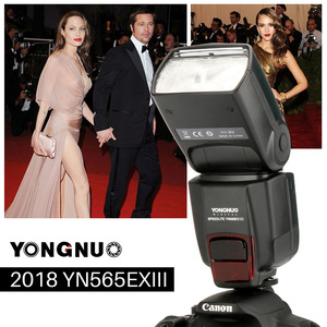Image 4 - YONGNUO YN565EX III Wireless TTL Slave Flash Speedlite GN58 High Speed Recycling System Supports USB Firmware Upgrade for Canon