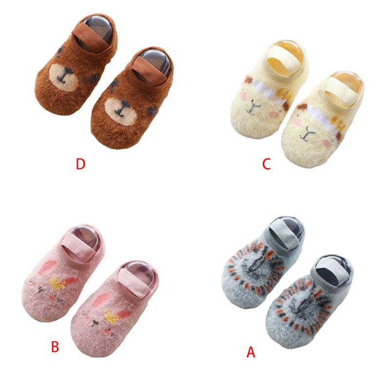 Autumn Winter Baby Kids Floor Socks New Cartoon Children Non-slip Toddler Sock