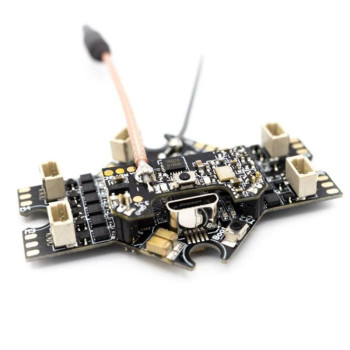 original emax f4 magnum all in one fpv stack tower system f4 osd 4 in 1 blheli s 30a esc vtx frsky xm rx Gift EMAX Tinyhawk Freestyle Part- Fright Control-All-In-One FC/ESC/VTX w/ PH2.0 Dual Connector Long FPV Antenna
