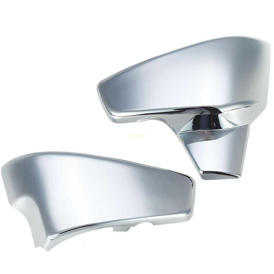 غطاء حماية البطارية الجانبية للدراجة النارية كروم لهوندا VLX 600 99-08 VT 600 C CD Shadow VLX Deluxe Steed 400 99-07