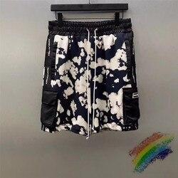 Tie-dye DANIEL PATRICK DP 20SS Shorts Men Women 1:1 Top Version Black and white Tie dye DANIEL PATRICK Shorts