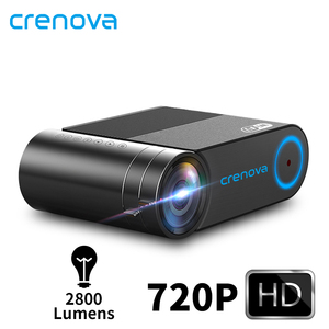 Image 1 - CRENOVA 2019 הכי חדש HD 720P וידאו מקרן עבור 1080P אלחוטי WiFi רב מסך מיני מקרן 3D VGA AV HDMI Proyector
