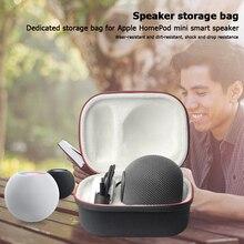 Depolama sert kabuk taşınabilir hızlı serbest bırakma hafif koruyucu akıllı hoparlör için taşıma çantası Apple HomePod Mini