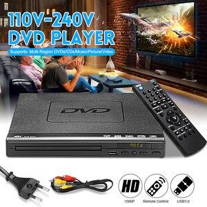 1080P HD DVD Player Portable USB 2.0 3.0 DVD Player Multimedia Digital DVD TV Support HDMI CD SVCD VCD MP3 Function