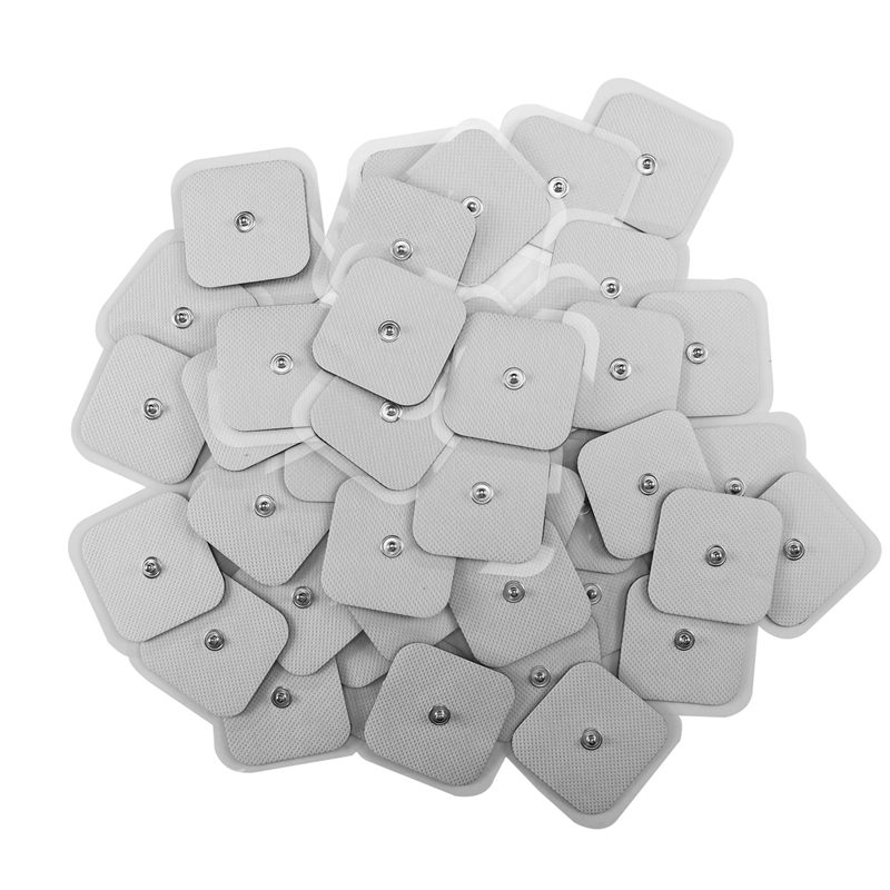 50Pcs Tens Electrodes Electrode Pad For Self Adhesive Electrode Patches For TENS Therapy Machines Physiotherapy