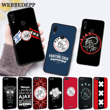 WEBBEDEPP Ajax Team Silicone Case for Xiaomi Redmi Note 4X 5 6 7 Pro 5A  Prime все цены