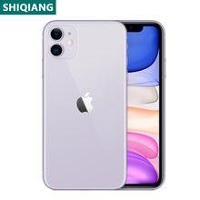 Gebruikt Unlocked Original Iphone 11 Mobiele Telefoons 6.1Inch Mobiele Telefoons 4 + 64/128/256Gb 12 + 12Mp 1SIM Card Smartphones