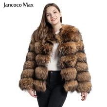 אופנה סגנון פרווה מעיל נשים של אמיתי דביבון פרווה מעיל חורף להתחמם יוקרה הלבשה עליונה S7375