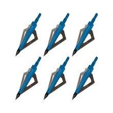 Pointes de flèches de tir remplaçables, 100/125, pour la chasse au grain, pour les arbalète, les arcs composés et recourbés