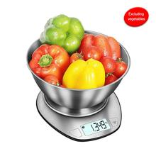 Portable 5kg 1g Digital Scale LCD Electronic Scales Steelyard G/ML Kitchen Scales Postal Food Balance Measuring Weight Libra 100g 0 1g 1kg 0 1g portable scales jewelery digital scales 0 01g 0 1g high precious medicinal herbs gold scales pocket hot sale