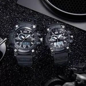 Image 5 - Youpin TwentySeventeen Digitale Uhr Männer Dual Display Wasserdicht Kalender Countdown Elektronische Outdoor Sport Uhr