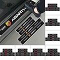 4 шт., автомобильные наклейки на пороги из углеродного волокна Sitcker для Fiats 600, эскалация Punto 500, Таленто, перегородки, Qubo, Siena Linea Ducato