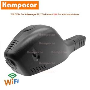 Image 1 - Kampacar VW15 C Wifi דאש מצלמת רכב Dvr מצלמה עבור פולקסווגן פולקסווגן פולו פאסאט B8 בורה CC גולף Sportsvan 7 מושב ליאון 1080P DashCam