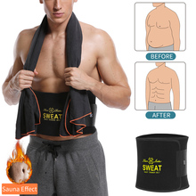 Shapers Belly Trimmer Slimming-Belt Sweat Waist-Trainer Weight-Loss Abdominal-Promote