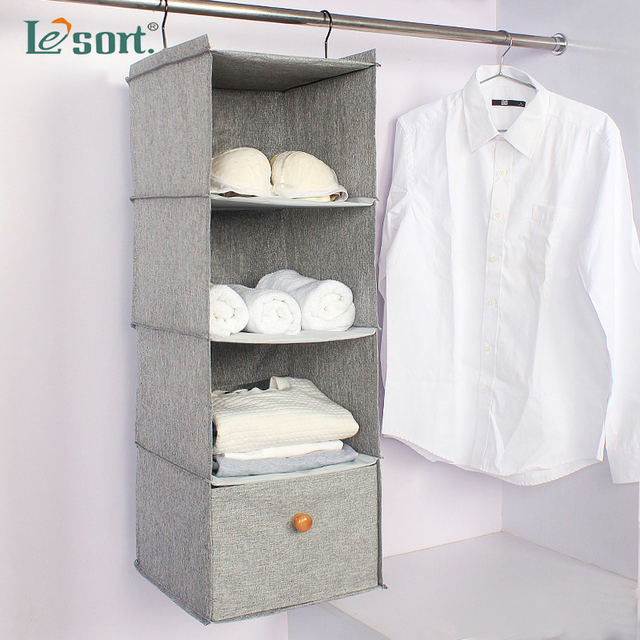 closet organizer storage bag wardrobe organizer fabric home finishing storage bag hanging closet organizers