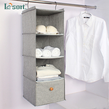 closet organizer storage bag wardrobe fabric home finishing hanging organizers