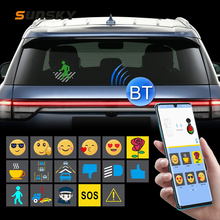 Car-Sticker Decorative Emoticons Bluetooth Expression Intelligent Auto-Interior-Taxi