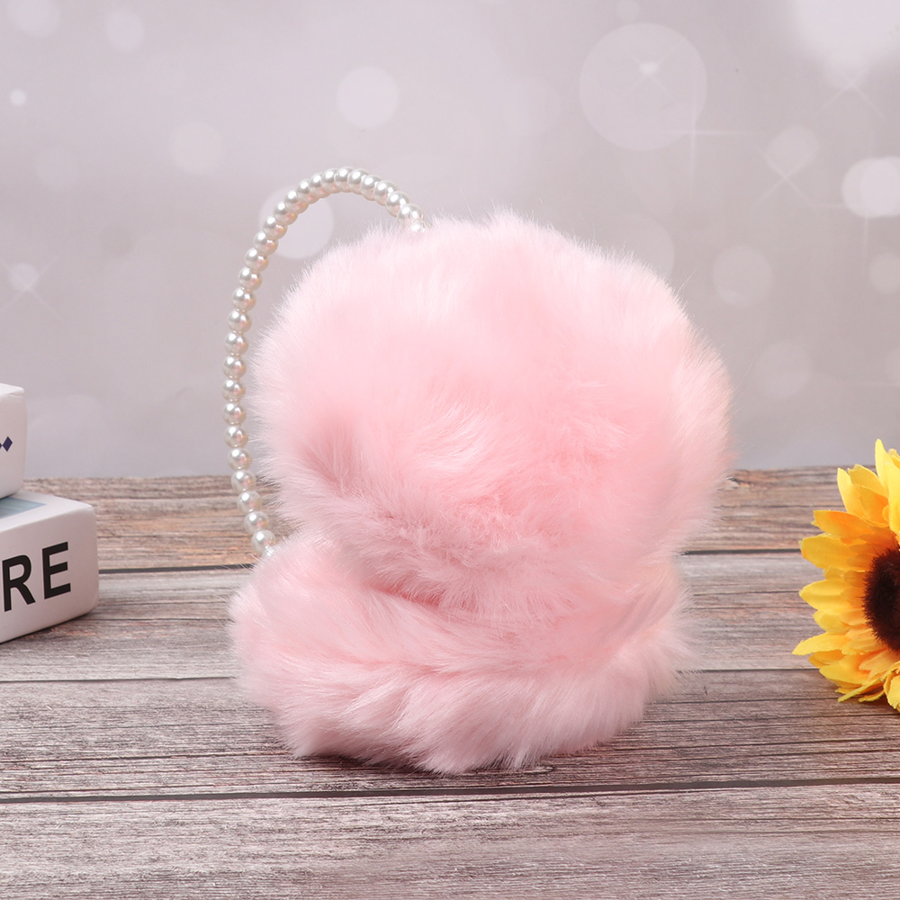 Cute Pearl Imitation Rabbit Fur Women Winter Warm Earmuffs Earwarmers Ear Muffs Earlap Girls Cotton Ear Muffs