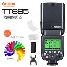 Godox TT685 TT685C TT685N TT685S TT685F TT685O Flash TTL HSS Camera Flash speedlite voor Canon Nikon Sony Fuji Olympus Camera