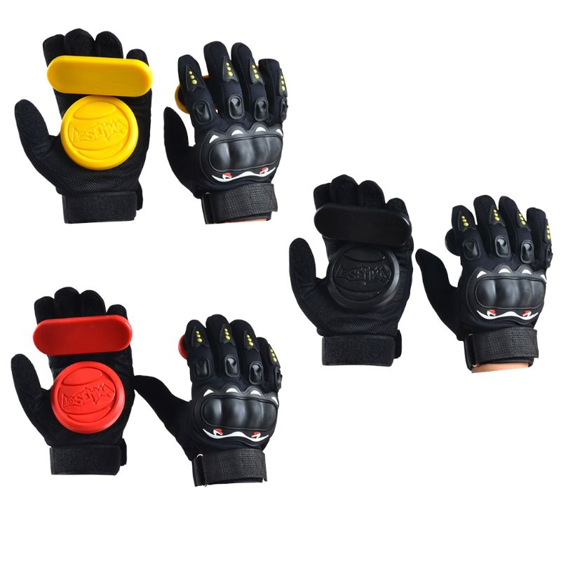 Longboard Gloves Thick Downhill Freeride Slide Protector Skateboarding Gear
