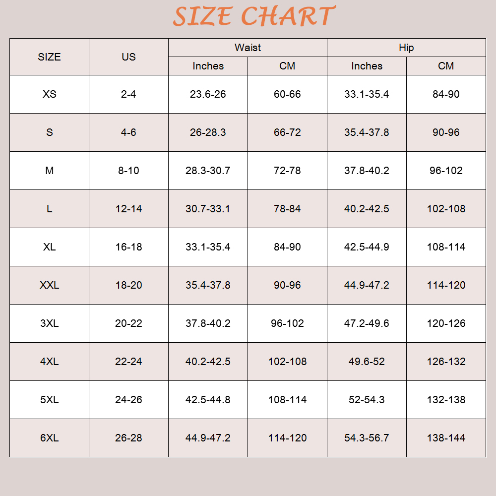 FeelinGirl Plus Size XS-6XL Shapewear Waist Slimming Briefs Butt lifter Modeling Strap Body Shaper Underwear Women Bodysuit-A