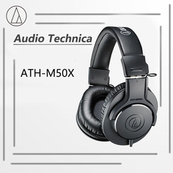 audio technica m20x / m50x Wired Monitor Headphones 3.5mm Jack 40 mm drive unit
