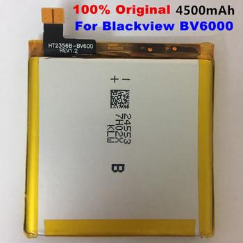 100 oryginalny 4500mAh V756161P baterii dla Blackview BV6000 BV6000S Batterie Bateria inteligentne mobilne telefon akumulator litowo-jonowy tanie i dobre opinie VBNM 3501 mAh-5000 mAh For Blackview BV6000 BV6000S