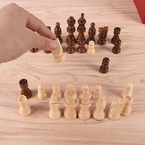 Ensemble de pièces d'échec taille moyenne 64mm 1