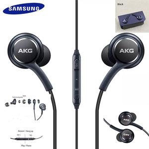 AKG Earphones IG955 3.5mm In-ear with Microphone Wire Headset for huawei xiaom Samsung Galaxy S8/s8+ S9 S10 smartphone