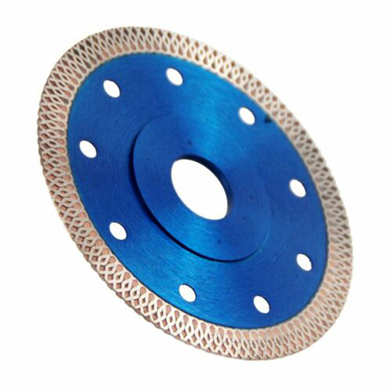 1pc Blue 4.5inch Diamond Disc 1.2mm Super Thin Diamond Disc Saw Leave For Cutting Ceramics Porcelain Tiles Saw Blade