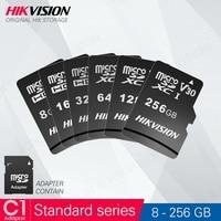 HIKVISION Speicher karte Class10 8GB 16GB 32GB 64GB 128GB 256gb MicroSDHC/XC UHS-I TF Micro SD Karte mit Adapter # C1