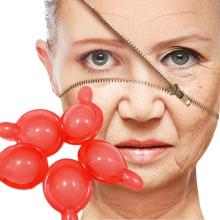 Universal 10Pcs Polypeptide Capsule Anti Wrinkle Firming Shrink Pores In Grain Acne Remove Repair Red Blood Serum