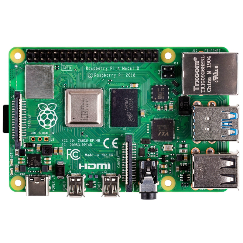 Image 3 - Raspberry Pi 4 Model B 1G/2G/4G Kit with Aluminum Case 5V 3A Power Adapter with Switch HMDI Cable 32G SD Card Optional-in Demo Board Accessories from Computer & Office