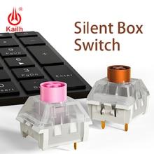 Kailh box Stille Schalter Mechanische Tastatur diy RGB SMD Rosa Braun schalter Staubdicht IP56 wasserdichte Kompatibel Kirsche MX 3pin