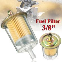 1pc 3/8 Fuel Filters Universal Motorcycle Small Engine Inline Gas Line Filter Motorbike Motor Oil
