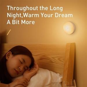 Image 5 - Baseus LED 야간 조명 PIR 지능형 모션 센서 야간 조명 사무실 홈 침실 침실 룸 인간의 유도 야간 램프