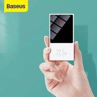 Baseus Mini Power Bank 10000mAh caricabatterie esterno portatile con Display digitale Powerbank a ricarica rapida per Xiaomi iPhone