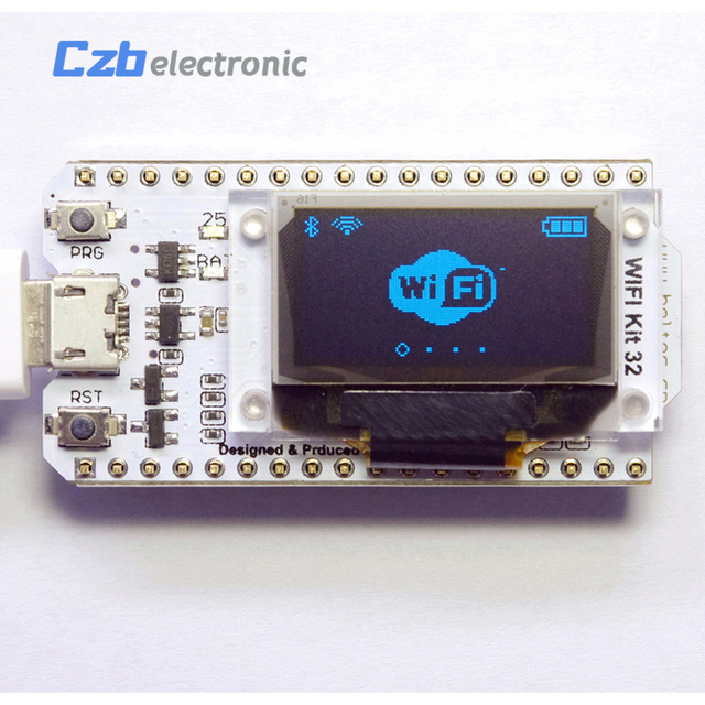 ESP32 0.96 inch Blue OLED Display Bluetooth WIFI Lora Kit 32 Module Internet Development Board For Arduino