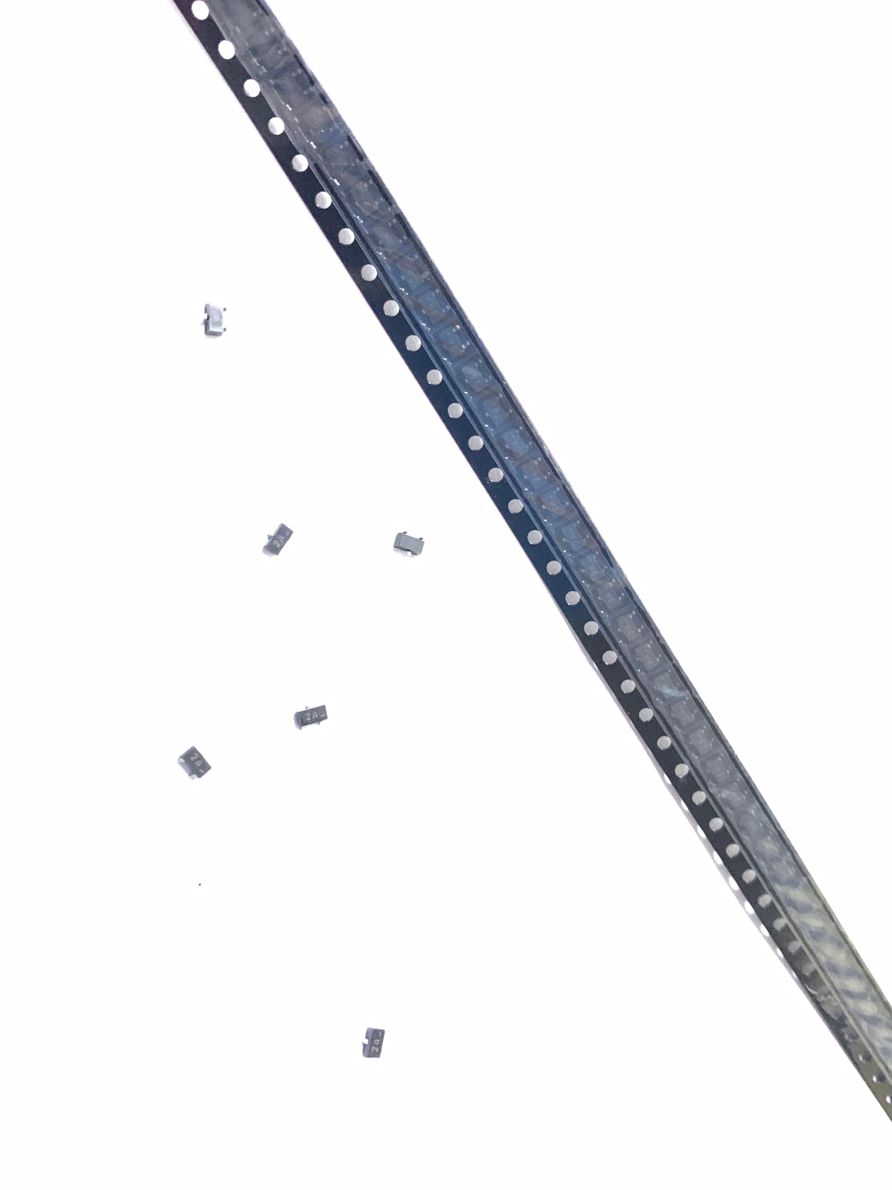 100 шт./лот BC817-25 6B SOT23 Триод (Силовые транзисторы NPN нормальный 1A 45V 6BW)