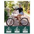 Ретро Электрический велосипед 500 Вт классический винтажный электрический велосипед электрический толстый велосипед пляж Ретро велосипед ...
