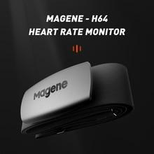 Magene novo modelo h64 bluetooth4.0 formiga + sensor de freqüência cardíaca compatível garmin bryton igpsport computador correndo bicicleta monitor
