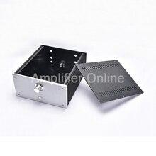 1PCS BZ2412B All Aluminum Class A Power Amplifier Chassis Audio Amp Housing DIY Case/Box 240*120*271mm AP32