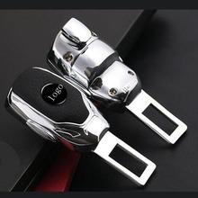 Klamra bezpieczeństwa samochodu rozszerzenie tłumik Extender zapięcie wkładka wtyczka klip dla BMW audi mercedes benz AMG w205 w124 w205 w210 glk gla tanie tanio FLYJ Pasy bezpieczeństwa i wyściółka for BMW E60 F20 E39 X3 X5 X1 E53 E30 E92 E70 For audi a5 a4 b8 b6 b7 b5 a3 q7 q5 a1 a6 c5 c6 tt q3