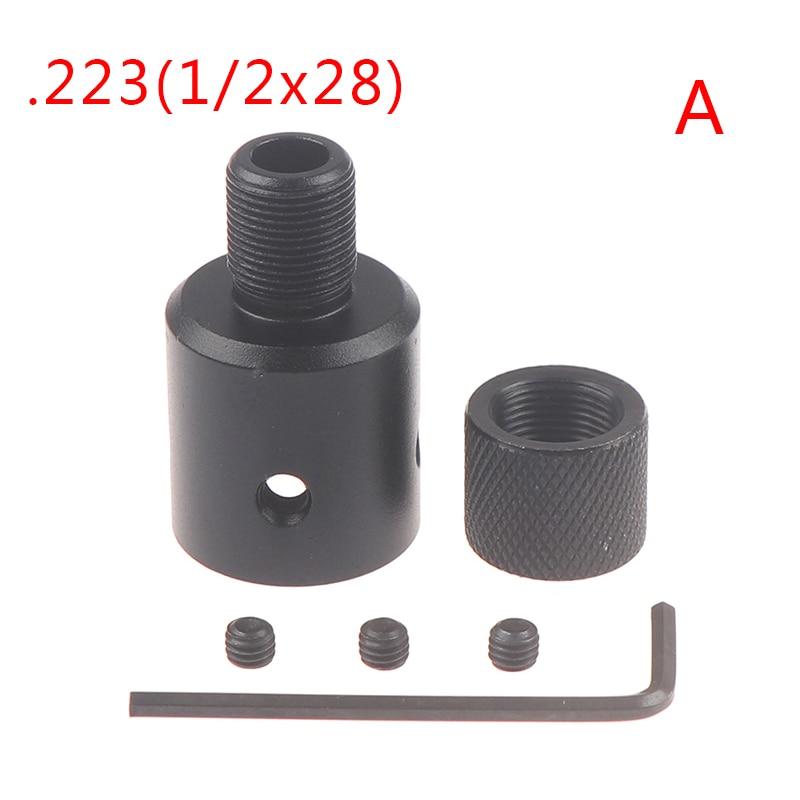 Для Ruger 10/22s бочка Концевая резьба защита намордника тормоз адаптер 1/2x28 5/8x24 комбинированный. 223 .308 компенсатор