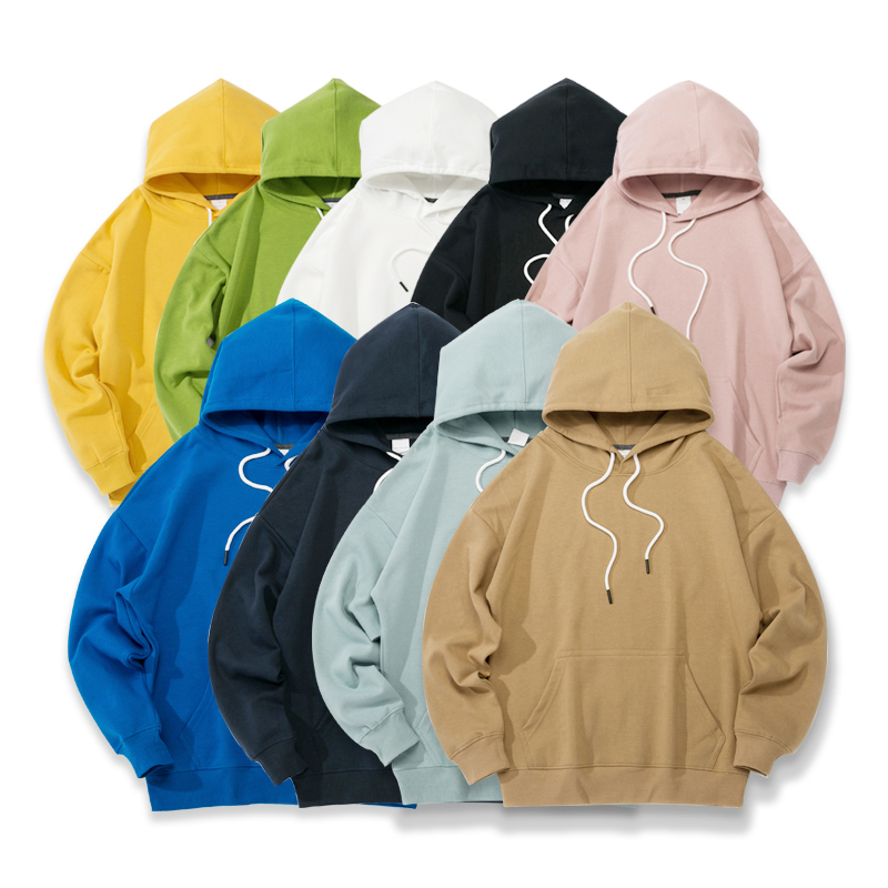 Houzhou Cotton Women Hoodies 2020 Harajuku Couple Sweatshirts Spring Long Sleeve Sudadera Mujer Casual Pocket Pullover Clothes