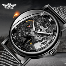 WINNER Men Watch Top Luxury Brand Fashion Sports Mechanical