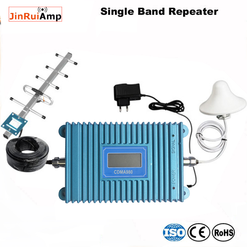 High Quality Cellphone Cdma 850 Repeater Amplifier Mobile Phone Cdma850 Mhz Booster Amplifier Complete Set For Brazil And Mexico